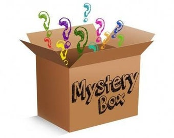 Mystery box, snacks and sweets, the perfect combination