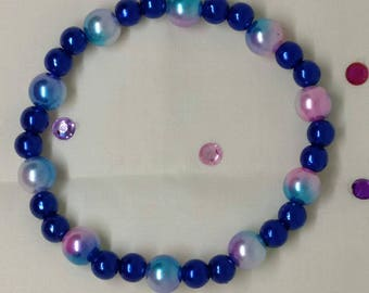 Dark Holo and Pearl Bracelet