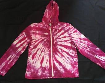 Pink Tie Dye Hoodie
