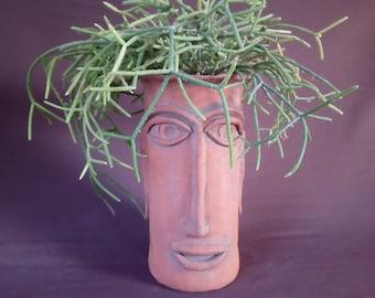 Plastic Pot in Teracotta