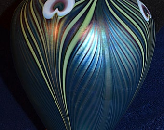 Orient & Flume Pulled Feather Vase