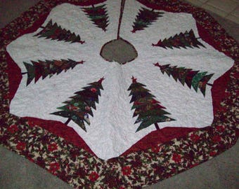 "64"" Larger Christmas Tree Skirt #17L"
