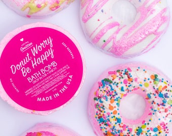 Imperfect Donut Bath Bomb pack of 8