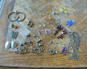 Earring lot of 20 pairs