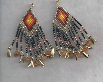 Autumn Sunset Earrings