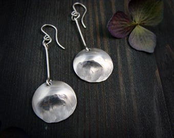 drawing down the moon ... sterling disc dangles