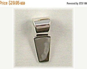 25% OFF Pack of Five (5) Sterling Silver GLUE ON Pendant Bails