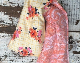 CRAZY SALE- Therapy Rice Pack-Floral Collection-Hot or Cold-Extra Long-Shoulder Comfort