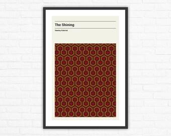 Stanley Kubrick, The Shining Carpet Minimalist Movie Poster