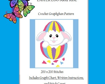 Easter Egg Surprise - Crochet Graphghan Pattern