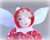 Art Doll Ornament - Snow Pixie