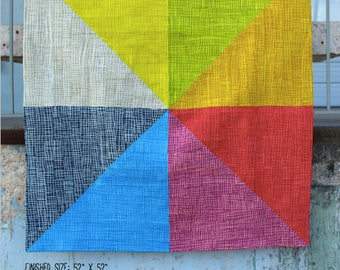 Mosaic of Eight Quilt Pattern PDF