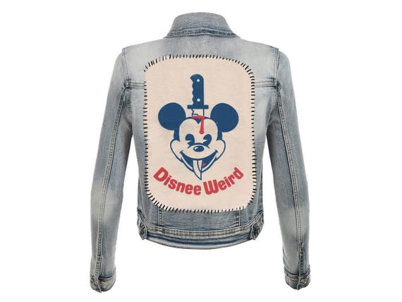 Disnee Weird Mickee Large Back Patch