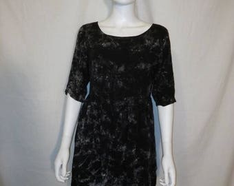 Closing Shop 40%off SALE 90s Vintage short dress, 90s Rayon Dress, boho bohemian gypsy hippie hippy dresses