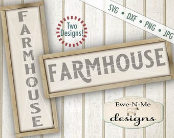 Farmhouse svg - Farm svg - Horizontal Farmhouse svg - Vertical Farmhouse svg - farmhouse svg bundle - Commercial use svg, dxf, png, jpg