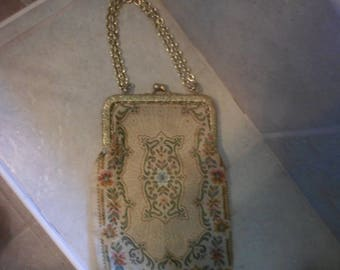 Vintage Tapestry Evening Bag by Mister Simon Ernest, Made in Italy