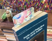 PRIDE & PREJUDICE bookmark faerie tale feet bennet sisters bookish austen art