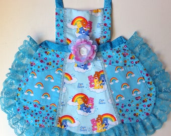 Care Bears Apron, toddler apron, girls apron