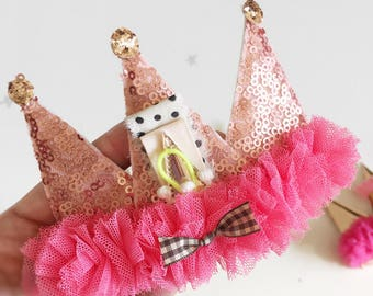 Whimsy Sequin Crown headband