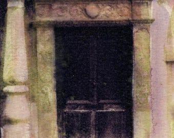 Doorway Downtown - print