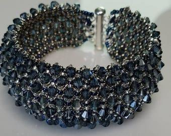 Swarovski Crystal Capricho Cuff Bracelet