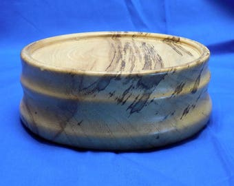 Spalted Hackberry Hardwood Base for Bird or Fish carvings