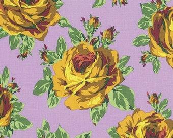 FAT QUARTER Quilt Cotton Fabric ~ Amy Butler Eternal Sunshine Rose Lore in Violet pwab160-viole