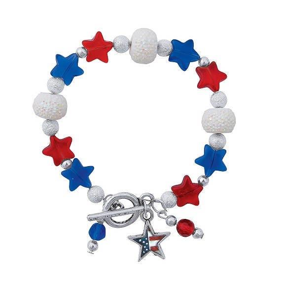 Patriotic Dangle Bracelet