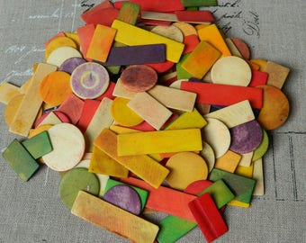 French colored tokens  - Gaming counters - Tinted chips - Tokens