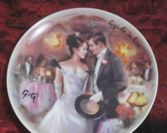 Vintage Collector's Plate Gigi Is In Love Decorative Collector Plate Signed Plate