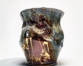 wood fired mug collaboration with Sadie Misiuk and Justin Rothshank