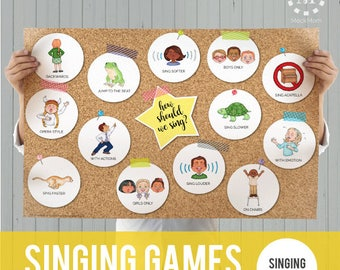 Singing Time Games: Singing Styles