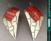 Tribal Tin Dangle Earring...