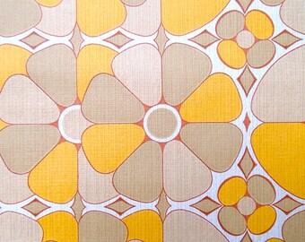full roll vintage wallpaper 'sixties' / original European wallpaper / Tapete / behang