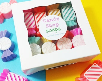 Best Friend Gift. Soap Gift. Soap Gift Box. Best friend birthday gift. Candy Shop Soaps. Gift for Her. Stocking Stuffer. Candy Soap. Candies