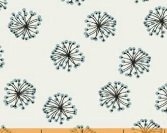 ON SALE Whisper by Victoria Johnson for Windham Fabrics Blue Dandelion