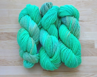 Hand dyed Yarn - Art-ply worsted weight - approx. 200yds/4oz