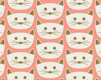 Cat Nap Pink Fabric