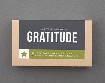 """Secret Santa Gift for Coworker, Boss, Friend. Xmas Christmas Gift. Funny, Fun. Novelty, White Elephant Gift Under 20. """"Gratitude"""" (L5GRA)"""