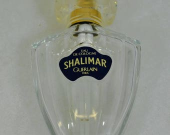 Vintage Shalimar by Guerlain Perfume Bottle Vaporisateur 1 fl. oz. Spray Empty