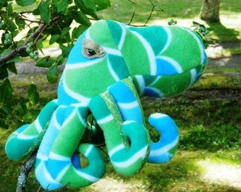 Soft stuffed toy, octopus,  animal, sea  creature