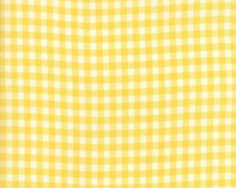 Howdy (20556 12) Buttercup Gingham by Stacy Iset Hsu