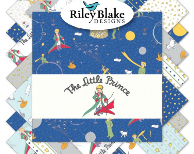 Featured listing image: The Little Prince Fat Quarter Bundle (FQ-6790-18)