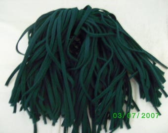 107  Mill Dyed Wool Rug Hooking Strips Primitive Green