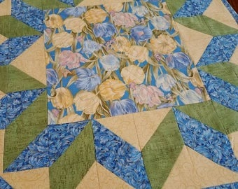 Spring Tulips Table Topper