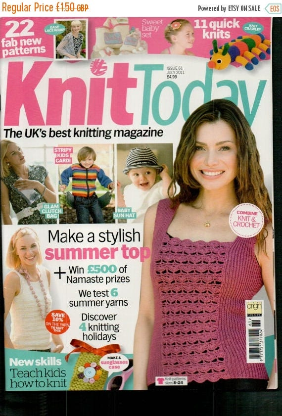 Christmas In July Knit Today Knitting Magazine Issue 61 July 2011