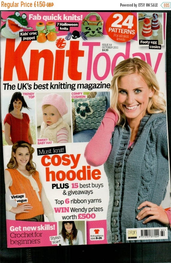 Christmas In July Knit Today Knitting Magazine Issue 64 October 2011