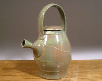 Teapot , Ceramic Teapot , Handmade Teapot , Stoneware Pottery Teapot , by Jon Whitney Pottery