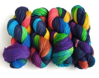 Storm's End, 75/25 Superwash Merino/Nylon Fingering Weight Sock Yarn