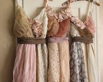 Custom Boho Bridesmaids Dresses in the Palette of Your Choice
